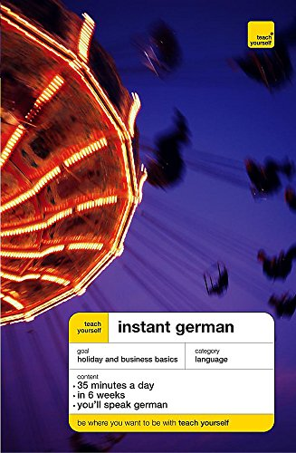 9780340868287: Instant German (Teach Yourself Languages)