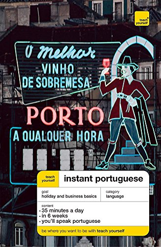 9780340868393: Teach Yourself Instant Portuguese New Edition (TYIC)