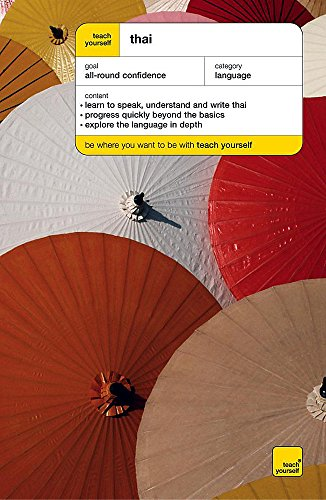 9780340868584: Teach Yourself Thai (Teach Yourself Complete Courses)