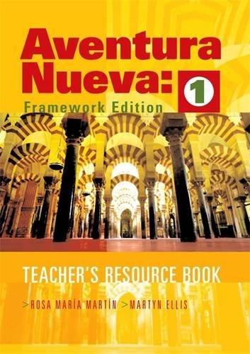 9780340868812: Aventura Nueva 1: Teacher's Resource Book: Teacher's Resource Bk. 1