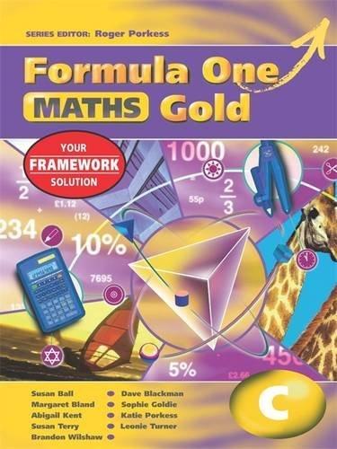 9780340869345: Formula One Maths Gold Year 9 C