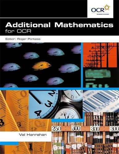9780340869604: Additional Mathematics for Ocr