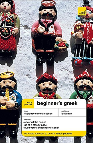 9780340870334: Teach Yourself Beginner's Greek (Teach Yourself Languages)