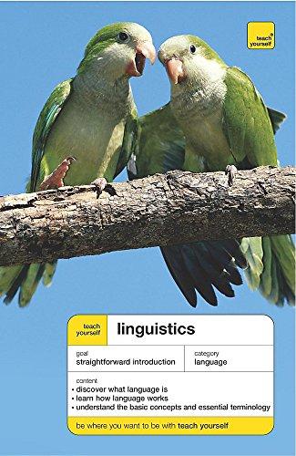 9780340870839: Linguistics (Teach Yourself Languages)