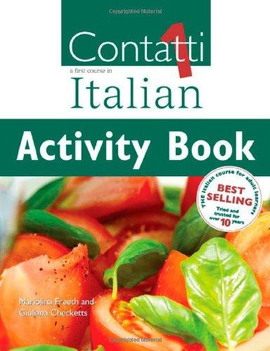 9780340872567: Contatti 1: A First Course in Italian Activity Book (Vol 1)