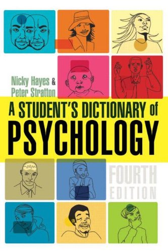 9780340873038: A Student's Dictionary of Psychology 4th Edition