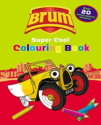 9780340879160: Brum Supercool Colouring Book 10 copy pack