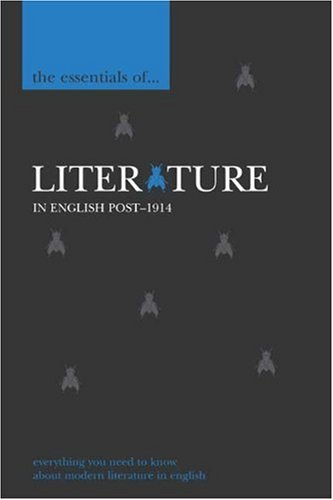 9780340882689: The Essentials of Literature in English, post-1914 (The Essentials of ... Series)