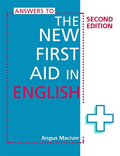 9780340882887: Answers to the New First Aid in English. Angus Maciver
