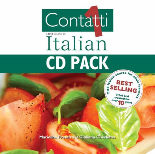 9780340882962: Contatti 1: Transcript Pack: A First Course in Italian