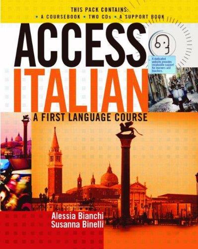 9780340883013: Access Italian (Access Languages) (Italian Edition)