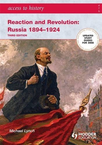 9780340885895: Access to History: Reaction and Revolution: Russia 1894-1924 Third edition