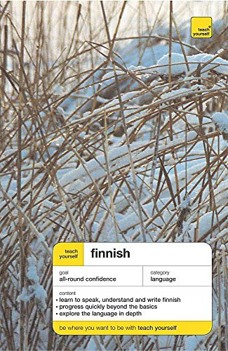 9780340887493: Teach Yourself Finnish (Teach Yourself Complete Courses)
