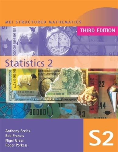9780340888537: MEI Statistics 2 Third Edition (MEI Structured Mathematics (A+AS Level))
