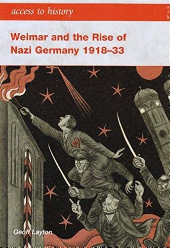9780340888957: Access to History: Weimar and the Rise of Nazi Germany 1918-1933