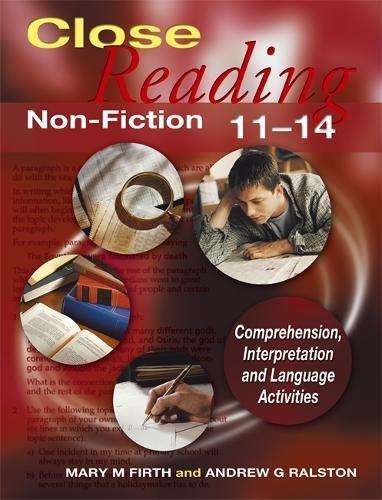 9780340889220: Close Reading Non-Fiction 11-14: Age 11-14