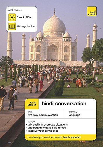 9780340890127: Teach Yourself Hindi Conversation (Teach Yourself Conversations)