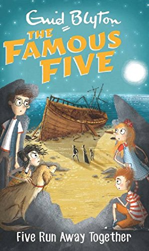 9780340894569: The Famous Five 3: Five Run Away Together