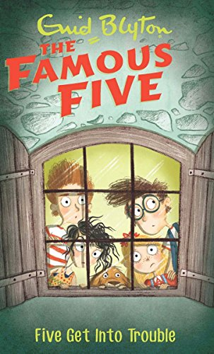 9780340894613: Five Get into Trouble: Famous Five 8