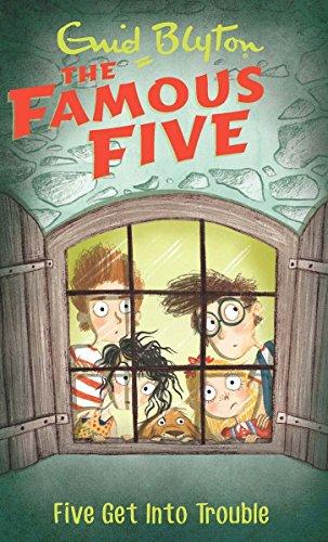 9780340894613: Five Get into Trouble: Famous Five 8