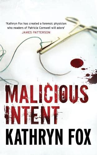9780340895849: Malicious Intent