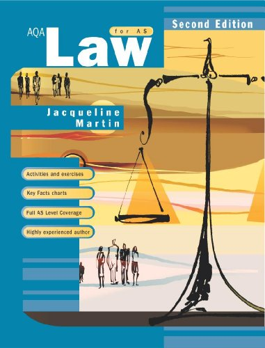 9780340899922: AQA Law for AS, Second Edition