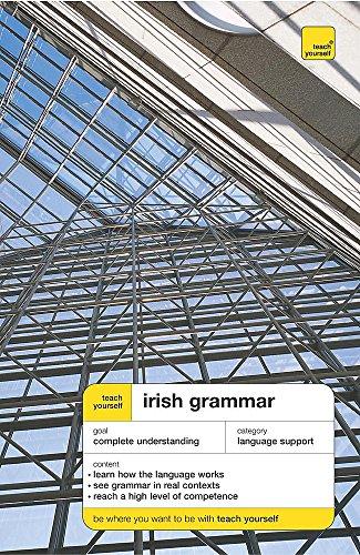 9780340904947: Teach Yourself Irish Grammar (Teach Yourself Complete Grammar)