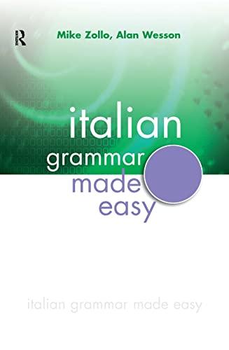 9780340904978: Italian Grammar Made Easy (Italian Edition)