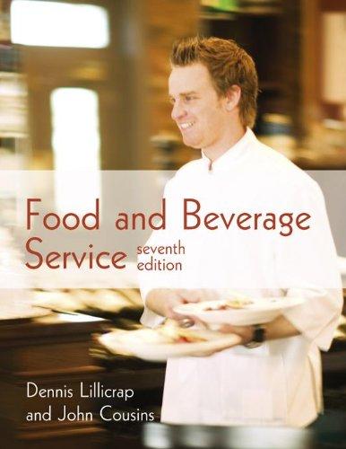 Food & Beverage Service: Lillicrap, Dennis R.,