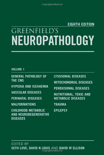 9780340906811: Greenfield's Neuropathology, 2-Volume Set, Eighth Edition (Hodder Arnold Publication)