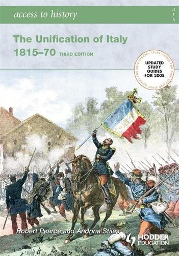 Unification of Italy, 1815-70: Robert Pearce; Andrina