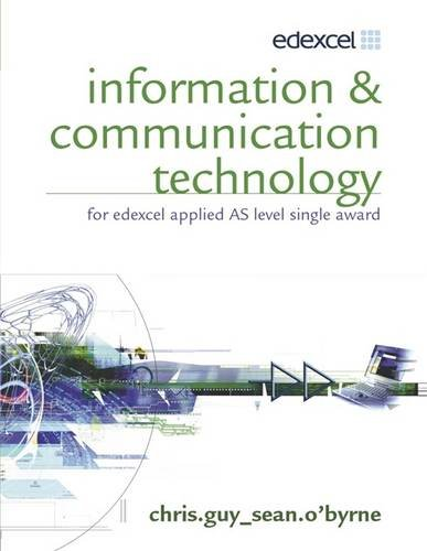 9780340907283: Information & Communication Technology for Edexcel Applied As: Single Award