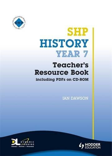 9780340907344: SHP History Year 7: Teacher's Resource Book Including PDFs on CD-ROM (Schools History Project) (Bk. 1)