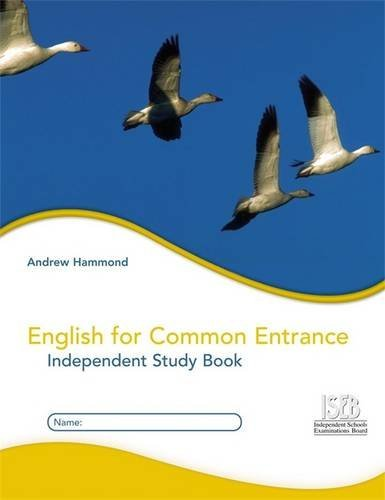 9780340907887: English for Common Entrance Independent Study Book