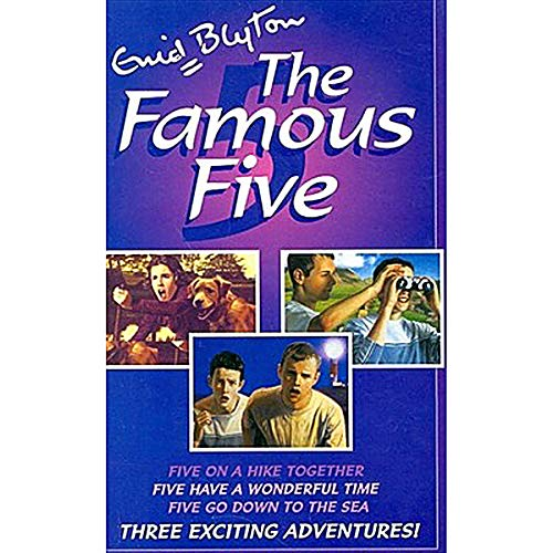 9780340910856: The Famous Five (Five On A Hike Together / Five Have a Wonderful Time / Five Go Down To The Sea)