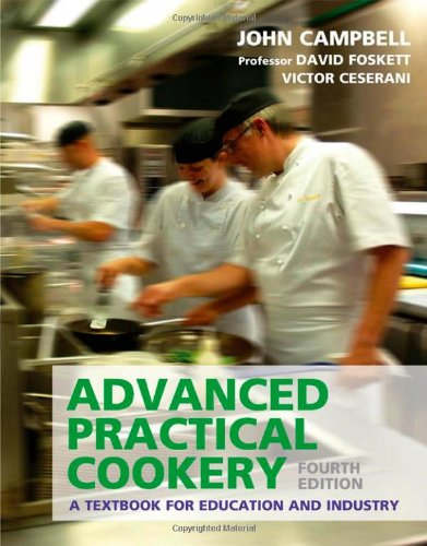9780340912355: Advanced Practical Cookery: A Textbook for Education & Industry