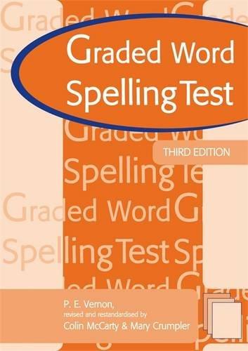 9780340913291: Graded Word Spelling Test