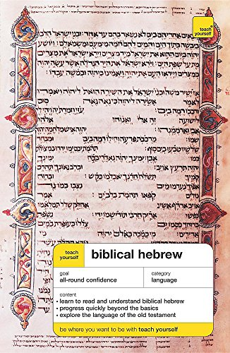 9780340913376: Teach Yourself Biblical Hebrew (Teach Yourself Complete Courses)