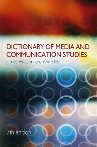 9780340913383: Dictionary of Media and Communication Studies (A Hodder Arnold Publication)