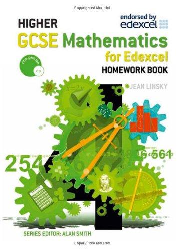 9780340913628: GCSE Maths Higher Homework Book (Gcse Mathematics for Edexcel)