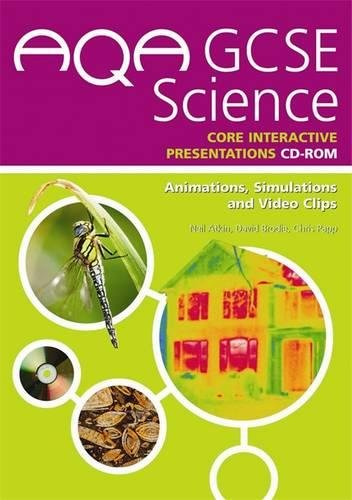 9780340914205: AQA GCSE Science Interactive Presentations CD-ROM: Animations, Simulations and Video Clips (AQA GCSE 2006)