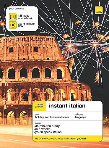 9780340914618: Teach Yourself Instant Italian (Teach Yourself Instant Courses)