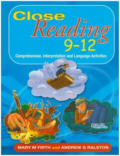 9780340914724: Close Reading 9-12: Comprehension, Interpretation and Lanuage Activities