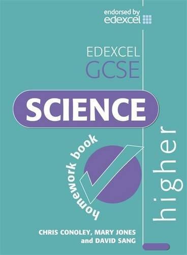 9780340914908: Edexcel Gcse Science Core Higher Homework Book