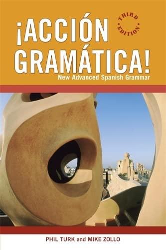9780340915264: �Acci�n Gram�tica!: New Advanced Spanish Grammar