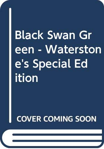 9780340924211: Black Swan Green - Waterstone's Special Edition
