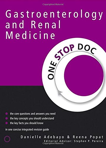 9780340925560: One Stop Doc Gastroenterology and Renal Medicine