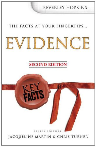 9780340925959: Key Facts: Evidence, Second Edition