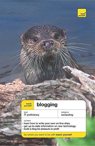 9780340926741: Teach Yourself Blogging (Teach Yourself - General)