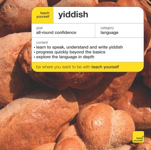 9780340927809: Teach Yourself Yiddish (Teach Yourself Complete Courses)